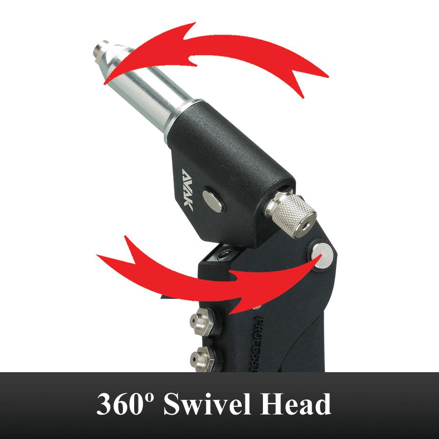 Rotated Sh360 Swivel Head